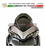 """Adesivi per cupolino Ducati Multistrada 950/1200/1260 (modelli dal 2015 """"V847"""