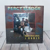 "Percy Sledge ‎– When A Man Loves A Woman - 7"" Vinyl Record - 1987 - YZ 96"