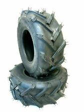 (2) Two 13x5.00-6 Lawn Mower Tiller Snow Blower Tubeless Tires13 500 6