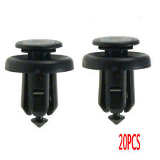 20x Front Bumper Clip Push Type Retainer W/Metal Insert 91505-S9A-003 For Honda