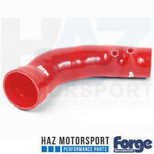 Forge Silicone Intake Inlet Hose + Clamp Honda Civic Type R 2.0T FK2 15- RED