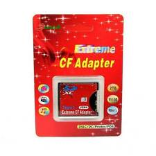 SDXC SDHC SD to Type I Compact Flash Card CF Adapter Max Support 2tb