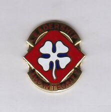 Us Army 4th Army Command crest Dui badge cb clutchback G-23