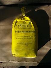 25kg hochwertiger Feuerzement Schamottezement Mörtel
