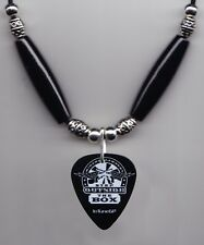 Miranda Lambert Step Outside the Box Black Guitar Pick Necklace - 2011 Tour