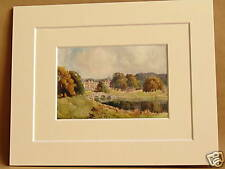 AUDLEY END ESSEX VINTAGE MOUNTED PRINT c1920 10X8  RARE