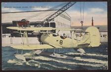 Postcard PENSACOLA,Florida/FL  PRIMARY DOUBLE WINGER TRAINING PLANE view 1940's?