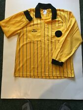 Soccer Referee Jersey Adult Yellow Ls