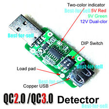 QC3.0 QC2.0 USB Trigger Tester Induction Quick Charge Voltage Detector 5V 9V 12V