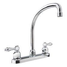 Dura Faucet Hi-Arc RV Kitchen Faucet for Travel Trailers, RVs, 5th Wheels
