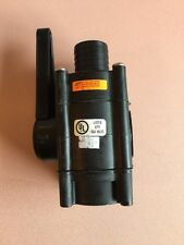 """1-1/2"""" BOAT SEA VALVE WITH FLOW HANDLE #87F1"""