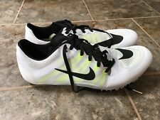 Nike Zoom Ja Fly 2 TRACK & FIELD Spikes Size 11 WHITE VOLT BLACK 705373-107