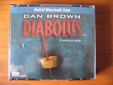 """"""" Dan Brown """" Diabolus """", 6 CD´s, gelesen von Detlef Bierstedt"""