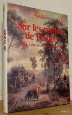 CHARBON SUR LES ROUTES DE FRANCE édition gyss ILLUSTRATIONS BON EXEMPLAIRE