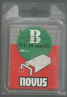 Novus, Tackerklammern Typ B  NT/10 mm----800 Stück