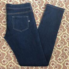 "MNG Brand - Women's ""Alice"" Dark Wash Slim Fit Jeans - Tag Size 8"