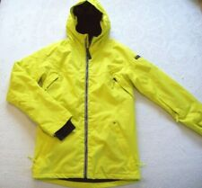 RIDE Snowboard Coat Parka men's XS insulated Strata II HD Yellow w/Lining