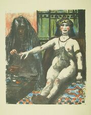 Lovis Corinth Akt Erotik Buch Judith Magd Schmuck Diadem Nägel Ring Harem Orient
