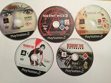 5 PLAYSTATION 2 PS2 GAMES RESIDENT EVIL CODE VERONICA X 4 OUTBREAK DEAD AIM +SH3