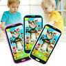 Kids Children Simulator Music Phone Screen Educational Learning Toy V3W8 X1 H6S4