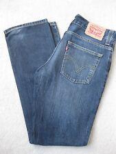 Men's Levi's 511 Blue Denim Jeans Size W33 L32