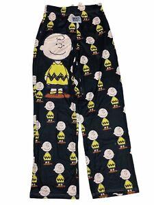 Brief Insanity Peanuts Charlie Brown Sleep Lounge Pajama Pants NWT