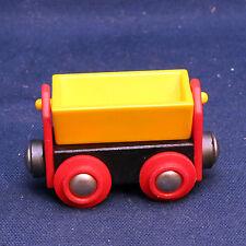Brio 33613 Kippwagen Lore Waggon Wagen - GELB - TOP - Yellow Tipping Wagon RARE