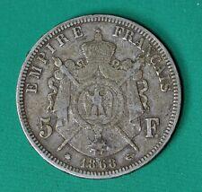 France, 5 francs 1868-A, Napoléon III