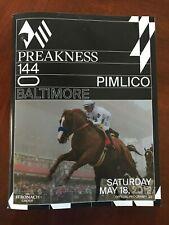 2019 Preakness Program Horse Racing MINT War of Will