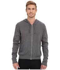 NWT ALO Yoga Hoodie size 2XL Sweatshirt in Asphalt Slub Grey Hero