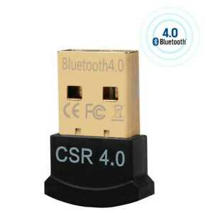 Bluetooth V4.0 USB 2.0 Adapter Mini Dongle Stick EDR Dual-Mode HighSpeed Dongle