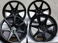 """ALLOY WHEELS X 4 18"""" M BLACK Z1 FOR LAND ROVER FREELANDER DISCOVERY SPORT EVOQUE"""