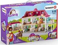42416 Schleich Large Horse Stable with House and Stable (Horse Club) Plastic Set