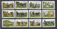 Serie sellos adhesivos de Francia 2015 Yvert AD 1096/07