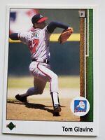 Tom  Glavine Upper Deck 1989 MLB Trading Card #360 Atlanta Braves
