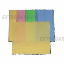 5 x Large Microfibre Lens Glasses Cleaning Cloth Spectacles