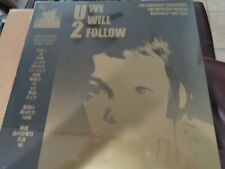 U2 LIVE!  WE WILL FOLLOW!!  ORPHEUM BOSTON MAY 6 1983 ONE LP RARITY W/ E BOOK!!
