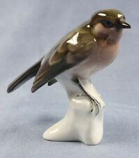 spatz singvogel rosenthal figur Vogelfigur porzellanfigur vogel porzellan v