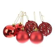 1 x Boite des balles de baubles suspendues d'Ornement de l'Arbre de Noel po N7A5