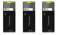 * Lot of 3 * Oem BlackBerry Ls1 Battery for Z10 1800mAh Original Acc-51546-301