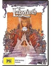 LABYRINTH DVD NEW 30th Anniversary Ed. TOP 1000 MOVIES DAVID BOWIE Jim Henson R4