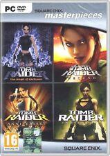 Tomb Raider Quadrilogy: Angel Of Darkness + Underworld + Legend + Anniversary -