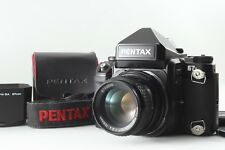 【Mint+++】 Pentax 67 II Film Camera + SMC P 105mm F2.4 + Hood From Japan #2040
