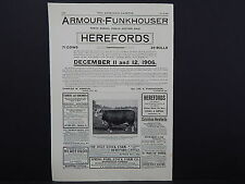 The Breeder's Gazette, Nov. 28, 1906, One Advertising Page, Double Sided #04