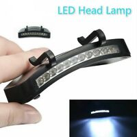 Baseball Cap Hat 11 LED Clip ON Lamp Light Fishing Headlamp for outdoor climbing