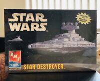 AMT/ERTL Star Wars Star Destroyer Scale Model Skill 2 New Sealed Box 2006