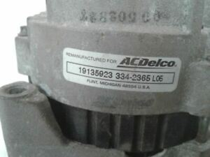 Alternator 100 Amp Fits 90-95 CHEVROLET 1500 PICKUP 611789