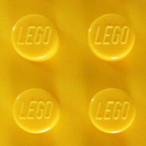 LEGO Plates in Bright Yellow - Choice New