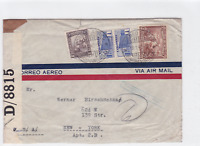 colombia 1942  censor  stamps cover ref r16153