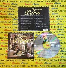 CD compilation CHANSONS DE PARIS piaf trenet chevalier baker (C50) no mc lp